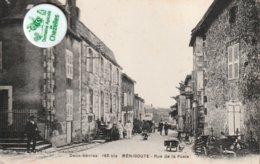 79 - Très Belle Carte Postale Ancienne De MENIGOUTE  Rue De La Poste - Otros Municipios