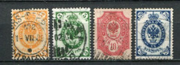 Finnland Nr.49/52         O  Used       (673) - 1856-1917 Russian Government