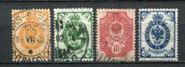 Finnland Nr.49/52         O  Used       (673) - Gebraucht