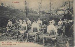 MASSAT (Ariège) Le Broyage Du Lin - Bargassado (voyagé) - Autres Communes