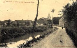 248- BAGNEUX-la-FOSSE ( Aube ) Passage De L'étang  -ed. S B - Frankreich