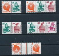 GERMANY Mi.Nr. Unfallverhütung , ZD W 43-46 KZ 10 - MNH - [7] West-Duitsland