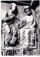 """30 Saint-Gilles Eglise Abbatiale XIIe S.Portail Central """"le Christ Annonce à Saint Pierre Son Prochain Reniement N°11 T - Saint-Gilles"""