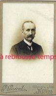 CDV Portrait D'homme-photo Guérot à Nevers - Photos