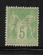 France Type Sage De 1898 N°102 Neuf * - 1898-1900 Sage (Type III)