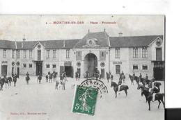 MONTIER EN DER  HARAS PROMENADE   CAVALIERS      DEPT 52 - Montier-en-Der