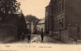 BELGIQUE YVOIR L'Eglise Et La Poste - Yvoir