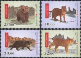 KYRGYZSTAN - 2014  - FAUNA -  ANIMALS - 4 V.  - MNH  - - Other