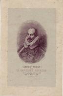 (Divers). Document Historique. Jura Franche Comte. Claude Prost Dit Lacuzon. 1866. 22x14.5 - Documentos Históricos
