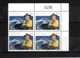Nepal   - 2007 - Lord Baden Powell And Scout Peak - MNH - B/4.  ( Condition As Per Scan ) - Nepal