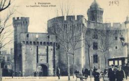 PERPIGNAN  Le Castillet ,Prison D'Etat Animée RV - Perpignan