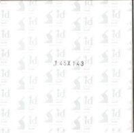 I.D. - Blocs 145x143 Fond Noir (double Soudure) - Bandes Cristal