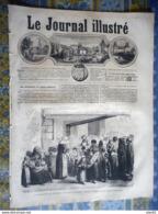 LE JOURNAL ILLUSTRE 20/12/1868 BUZANCAIS LONDRES FOOTBALL PARIS EMBELLISSEMENT LA VILETTE ABATTOIR OURS RICHARD WAGNER - 1850 - 1899