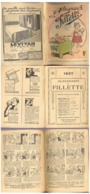 Almanach De Fillette   1937 - Books, Magazines, Comics