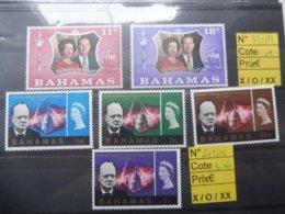 Bahamas  Churchill 332/33 Et 213/16 - Sir Winston Churchill