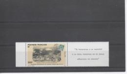 POLYNESIE Française - 100 Ans Du 1er Timbre Des Etablissements Français De L'Océanie (E.F.O.) : Carte Postale D'époque - Polynésie Française