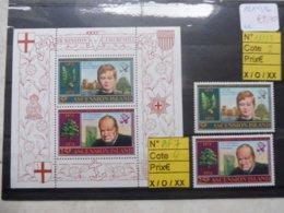 Ile Ascension / Island Ascension Churchill Bloc 7 Et 182/83 - Sir Winston Churchill