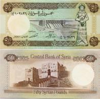 SYRIA       50 S. Pounds       P-103e       1991 / AH1412         UNC - Siria