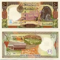 SYRIA       50 S. Pounds       P-107       1998 / AH1419         UNC - Siria