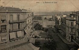 Algérie - ORAN - Le Boulevard Du Lycée - Oran