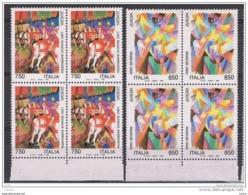 REPUBBLICA:  1993   EUROPA  -  S. CPL. 2  VAL. BL. 4  N. -  SASS. 2059/60 - Europa-CEPT