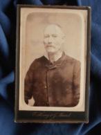 Photo CDV Henry Et Maurel à Toulon - Portrait Homme Agé Circa 1885-90 L469 - Photos