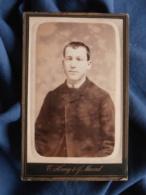 Photo CDV Henry Et Maurel à Toulon - Portrait Jeune Homme Au Strabisme Circa 1885-90 L469 - Photos
