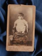 Photo CDV B. Gerby à Toulon - Jeune Enfant, Portrait Embossé Circa 1885-90 L469 - Photos