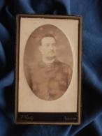 Photo CDV B. Gerby à Toulon - Portrait Embossé, Homme Circa 1885-90 L469 - Photos