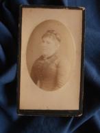 Photo CDV B. Gerby à Toulon - Portrait Femme Opulente Poitrine Circa 1880 L469 - Photos