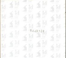 I.D. - Blocs 144x128 Fond Noir (double Soudure) - Bandes Cristal
