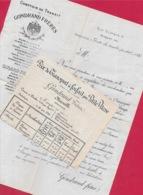 1881 Courrier Commercial + Tarif GONDRAND Frères Comptoir De Transit 13 MARSEILLE Relations Internationales - Verkehr & Transport