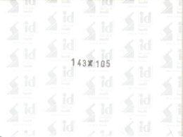 I.D. - Blocs 143x105 Fond Noir (double Soudure) - Bandes Cristal