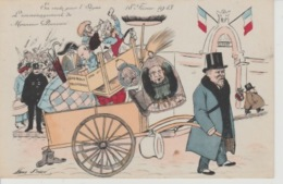 19 / 10 214  -  EN  ROUTE  POUR  LÉLYSÉE  18 FÉVRIER  1913 - MR  POINCARÉ. ( SIGNÉ XAVIER  SAGER  ) - Sager, Xavier