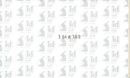 I.D. - Blocs 184x109 Fond Noir (double Soudure) - Bandes Cristal