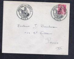 Enveloppe Locale Journee Du Timbre 1946 Ales Gandon - France