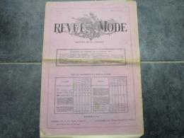 REVUE DE LA MODE - Gazette De La Famille - 9ème Année-N°446 (8 Pages) - Vintage Clothes & Linen