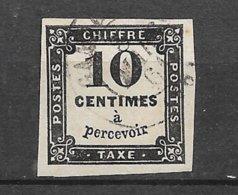 France Tatxe   N° 2A  Oblitéré   B/   TB     Soldé  à Moins De 15  %       Le Moins Cher Du Site  ! !  ! - 1859-1955 Used