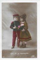 WW1 - 2 Cartes Patriotiques - Alsace - Enfants - Guerra 1914-18