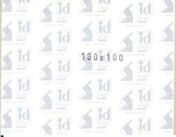I.D. - Blocs 130x100 Fond Noir (double Soudure) - Bandes Cristal