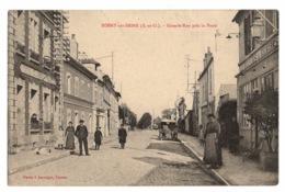 78 YVELINES - ROSNY SUR SEINE Grande Rue Près La Poste, Beau Cachet D'hôpital Auxiliaire - Rosny Sur Seine