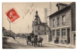 78 YVELINES - CONFLANS SAINTE HONORINE L'hôtel Des Postes Et L'hôtel De Ville - Conflans Saint Honorine