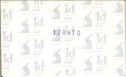 I.D. - Blocs 120x70 Fond Noir (double Soudure) - Bandes Cristal