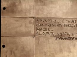 Algérie Album Alger D'hier Et D'aujourd'hui 1957 - Livres, BD, Revues
