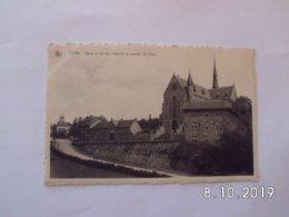 Ciney. - Eglise Et Rue Des Capucins Au Quartier St. Roch. - Ciney