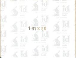 I.D. - Blocs 107x80 Fond Noir (double Soudure) - Bandes Cristal