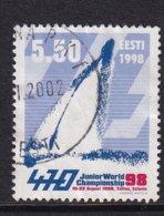 Estonia 1998, Sailing, Minr 329, Vfu - Estland