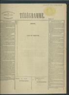 Telegramformulier Serie G Nr 245226 - 1874 - Telegraph