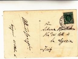 Ufficio Postale Inglese In Marocco, Tangeri Per La Spezia, Post Card 1936 - Oficinas En  Marruecos / Tanger : (...-1958
