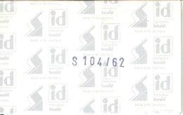I.D. - Blocs 104x62 Fond Noir (double Soudure) - Bandes Cristal
